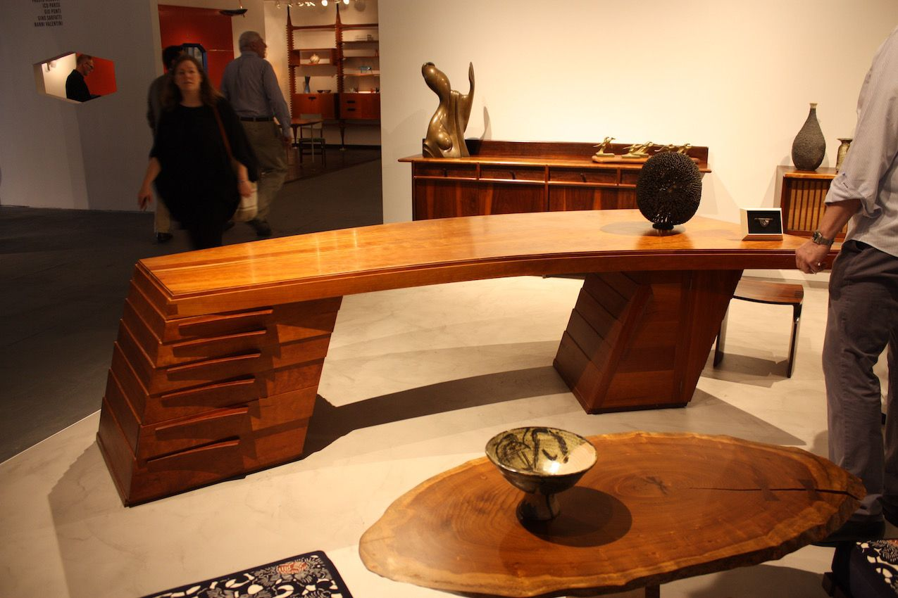 Jasper Brinton, designer and woodworker, was born in 1938 in Alexandria, Egypt, of American parents and raised in the Middle East. He now lives in an old schoolhouse in rural Pennsylvania, and has enjoyed a 40-year year career centered around contemporary furniture and its functional design.
