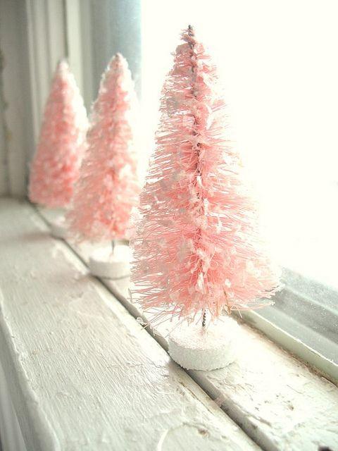 Pink Windowsills