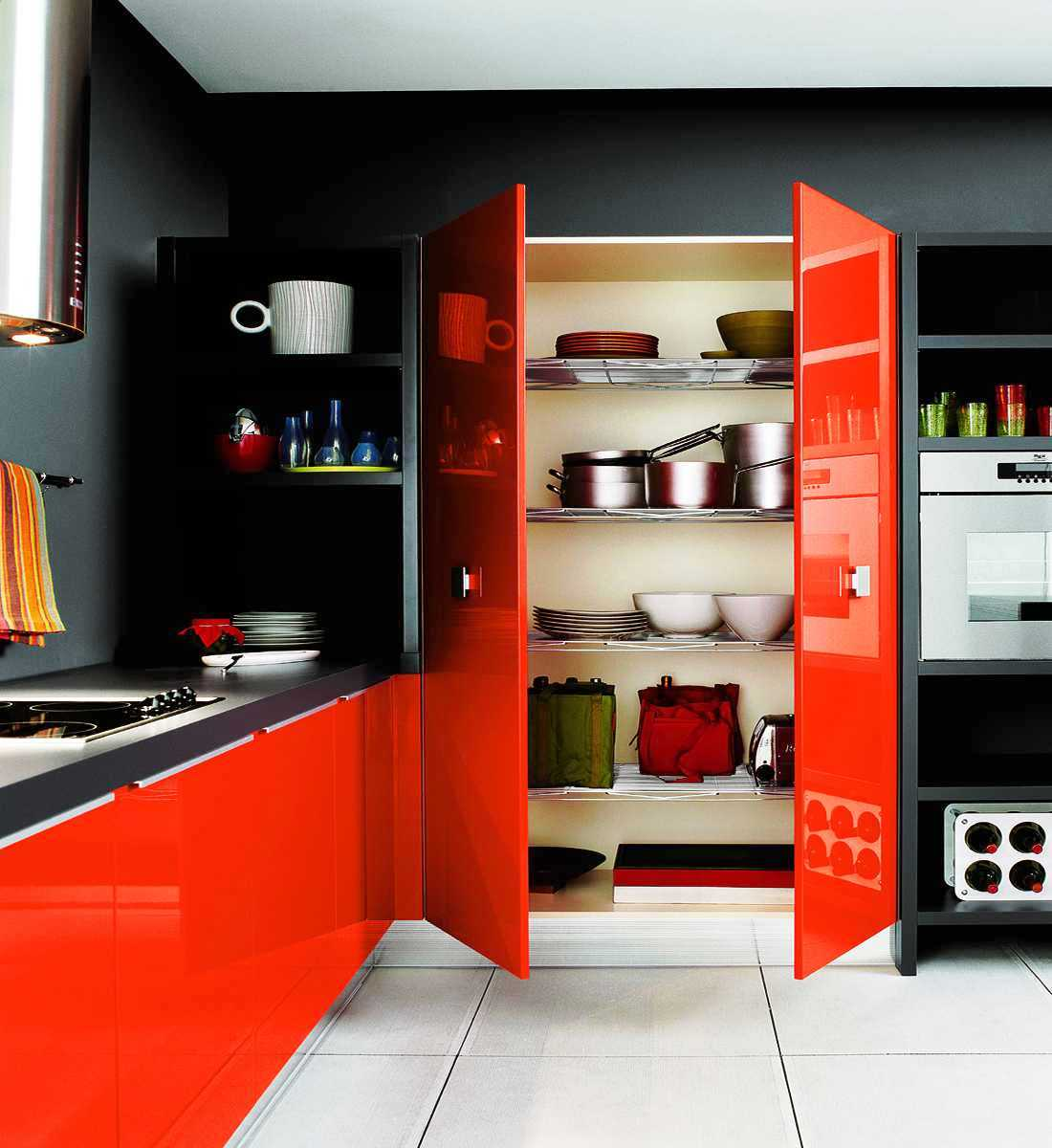 Orange And Green Painted Kitchens 20 awesome color schemes for a modern kitchen