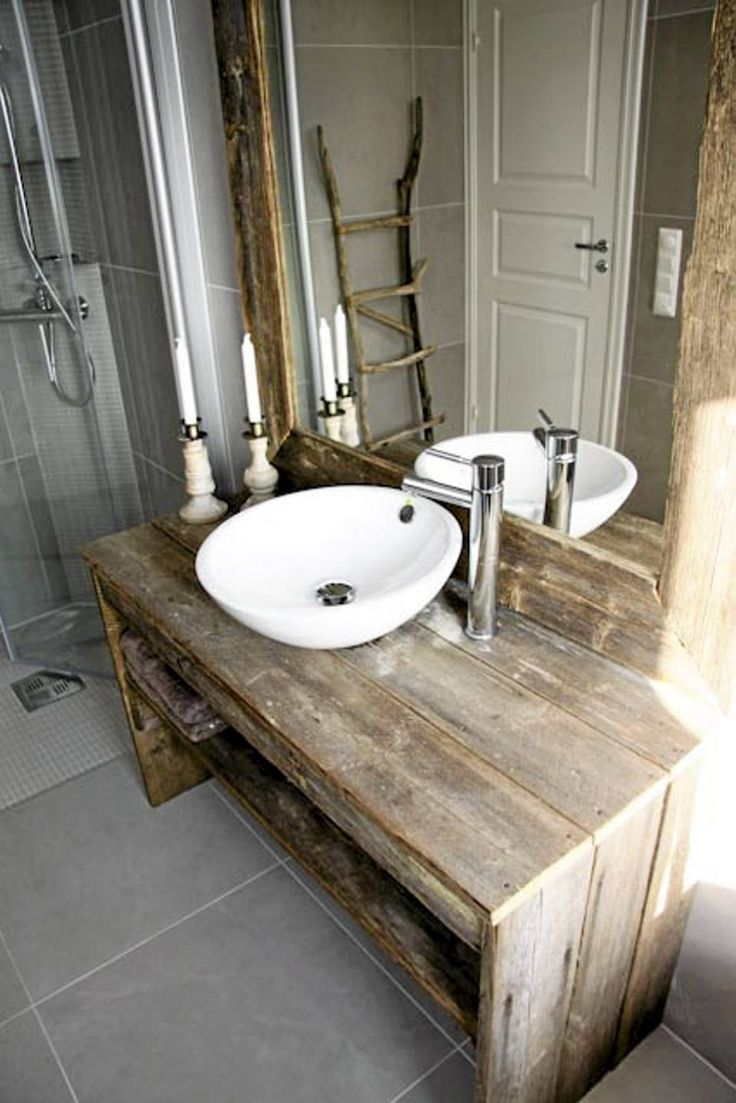 Raw Bathroom Decor View In Gallery This Sink And Vanity Is