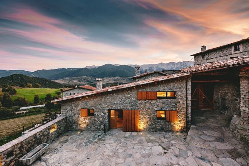 Rustic Home Rehabilitated With A Modern Twist
