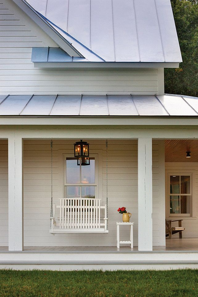 Simple porch decor