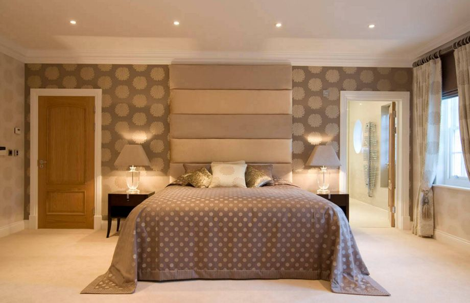 Star Flower Wallpaper Bedroom. 20 Ways Bedroom Wallpaper Can Transform the Space