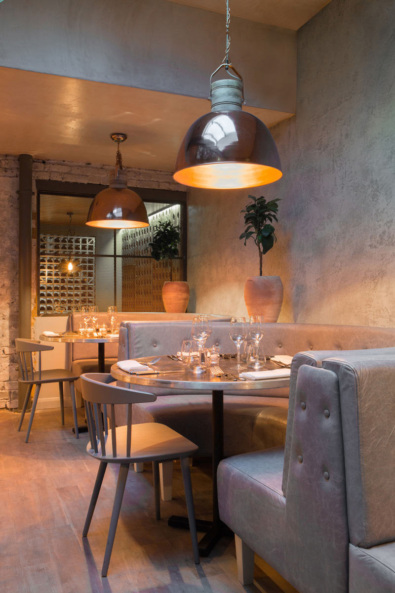 London restaurant impresses with lots of copper beauty - Signature interiors and design kent ...