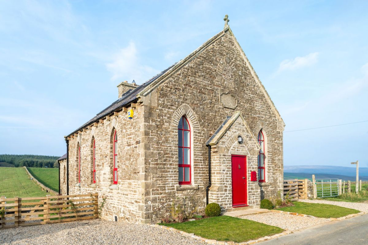 The Chapel holiday cottage architecture