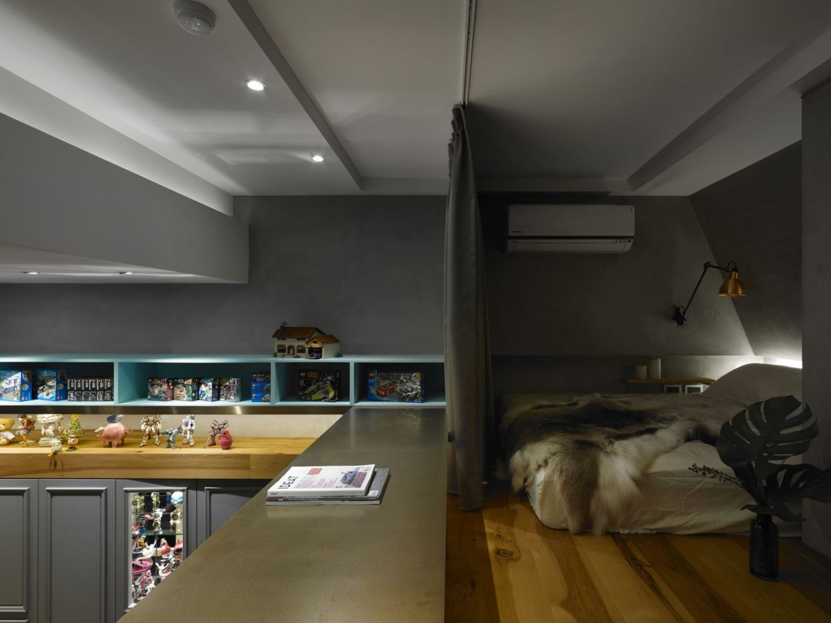 The Toy House apartment in New Taipei sleeping area