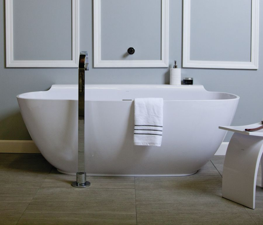 The most powerful color for bathroom