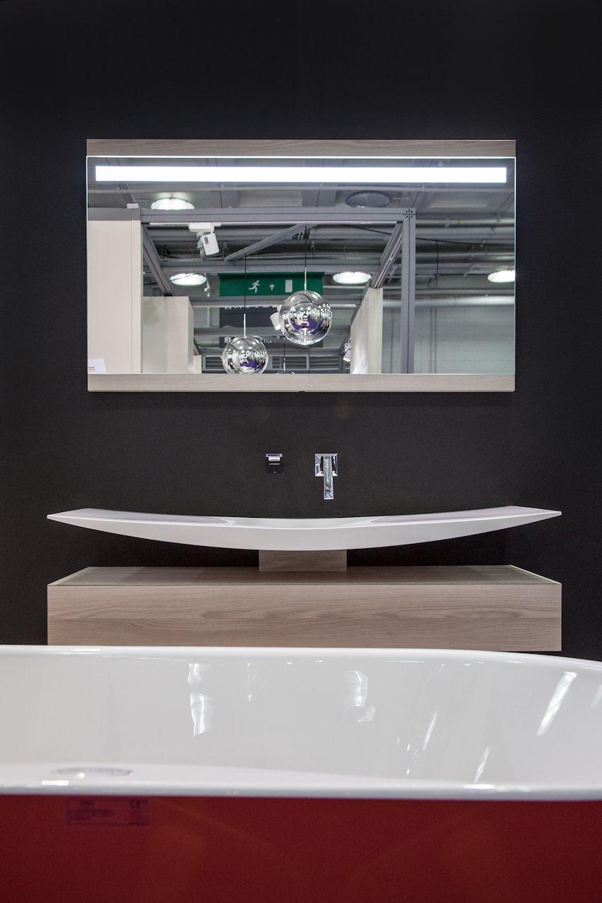 Thin wash basin