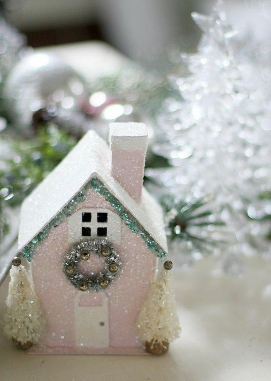 Tiny Houses in Pink