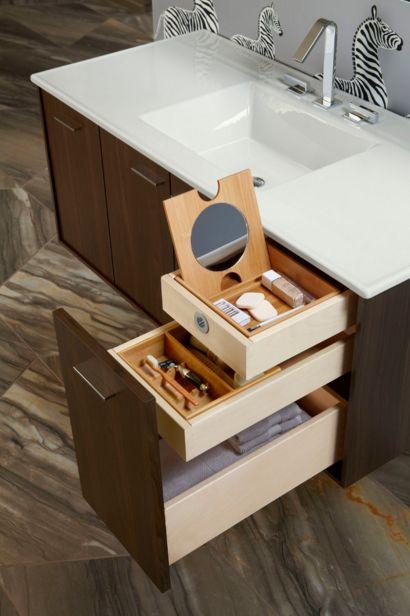 Vanity Drawer Storage