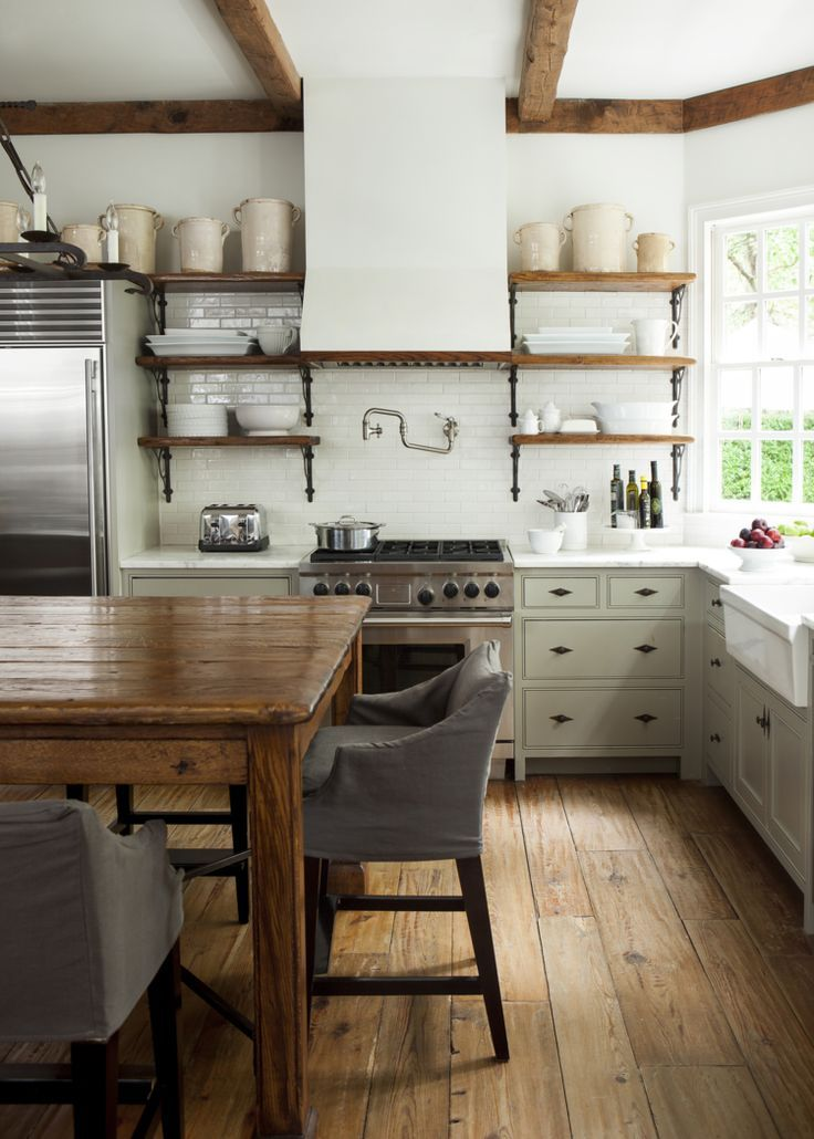 Must Have Elements For A Dream Kitchen: 40 Elements To Utilize When Creating A Farmhouse Kitchen