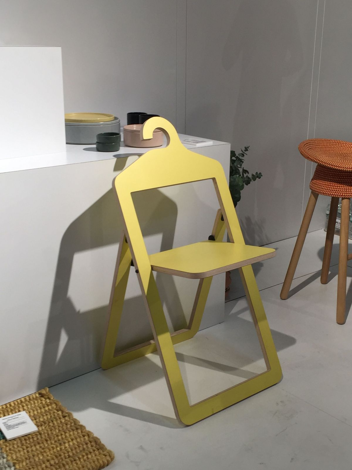 Yellow Folding Umbra Chair