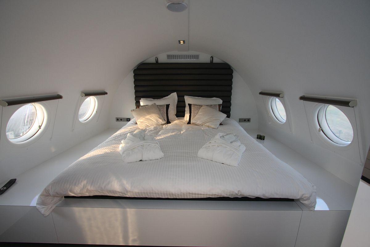 Flugzeug Suite Schlafzimmer