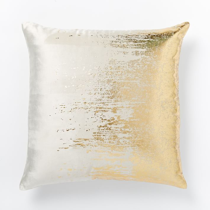 Artsy throw pillow