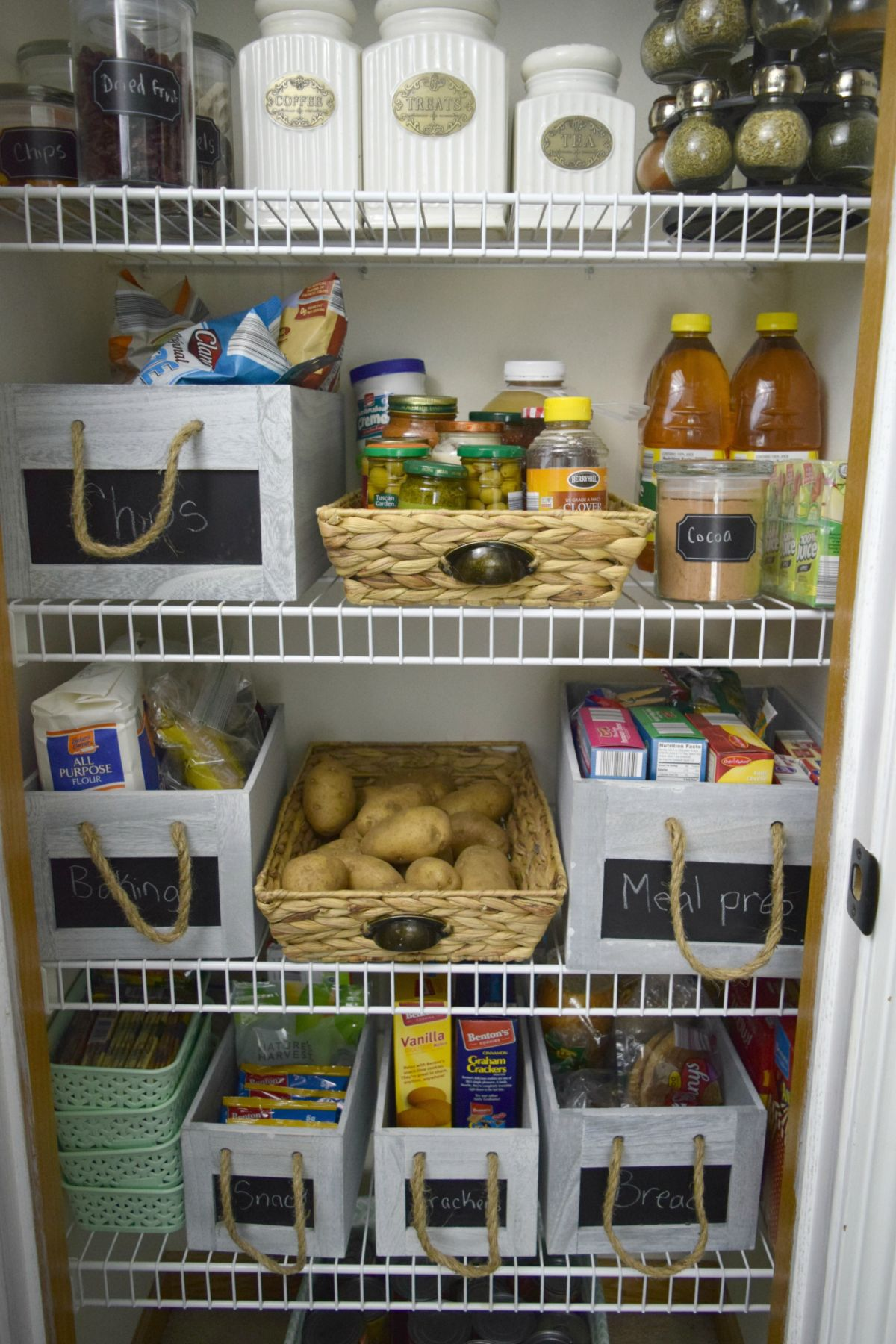 Beautiful Organized Pantry Room