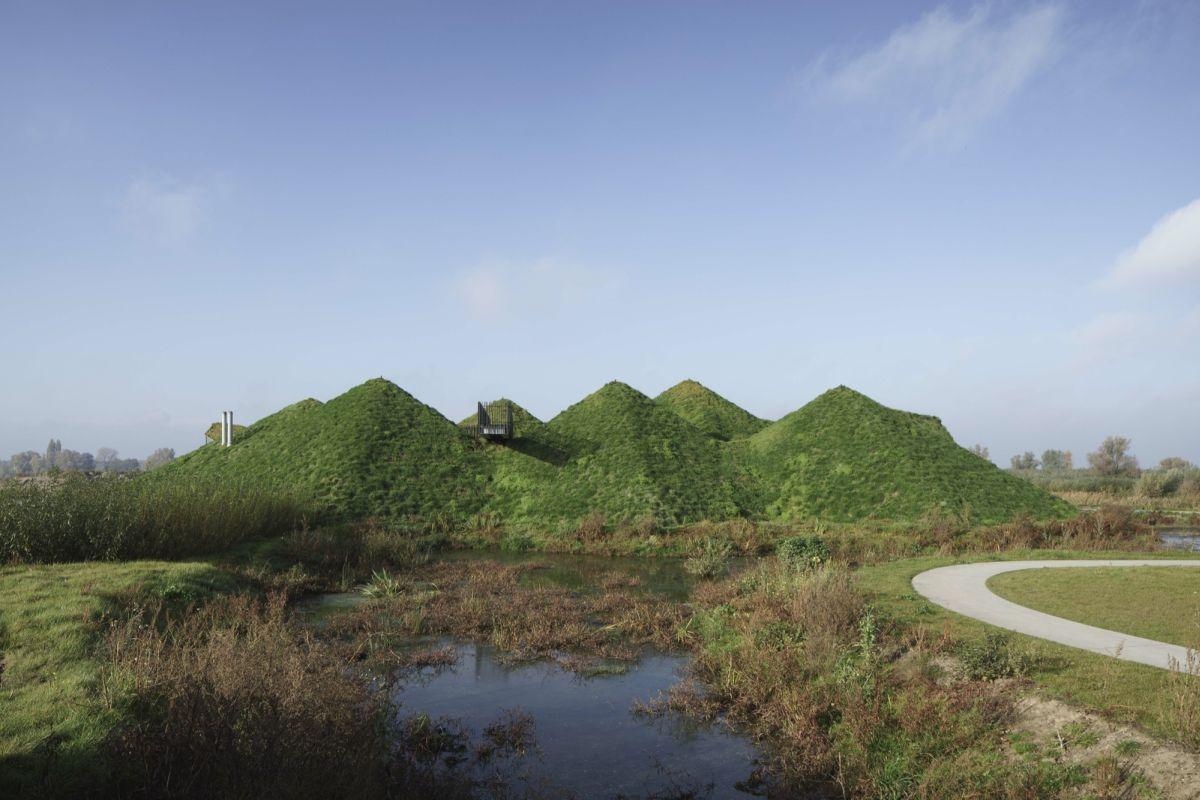 Biesbosch Museum Island from Studio Marco Vermeulen Back