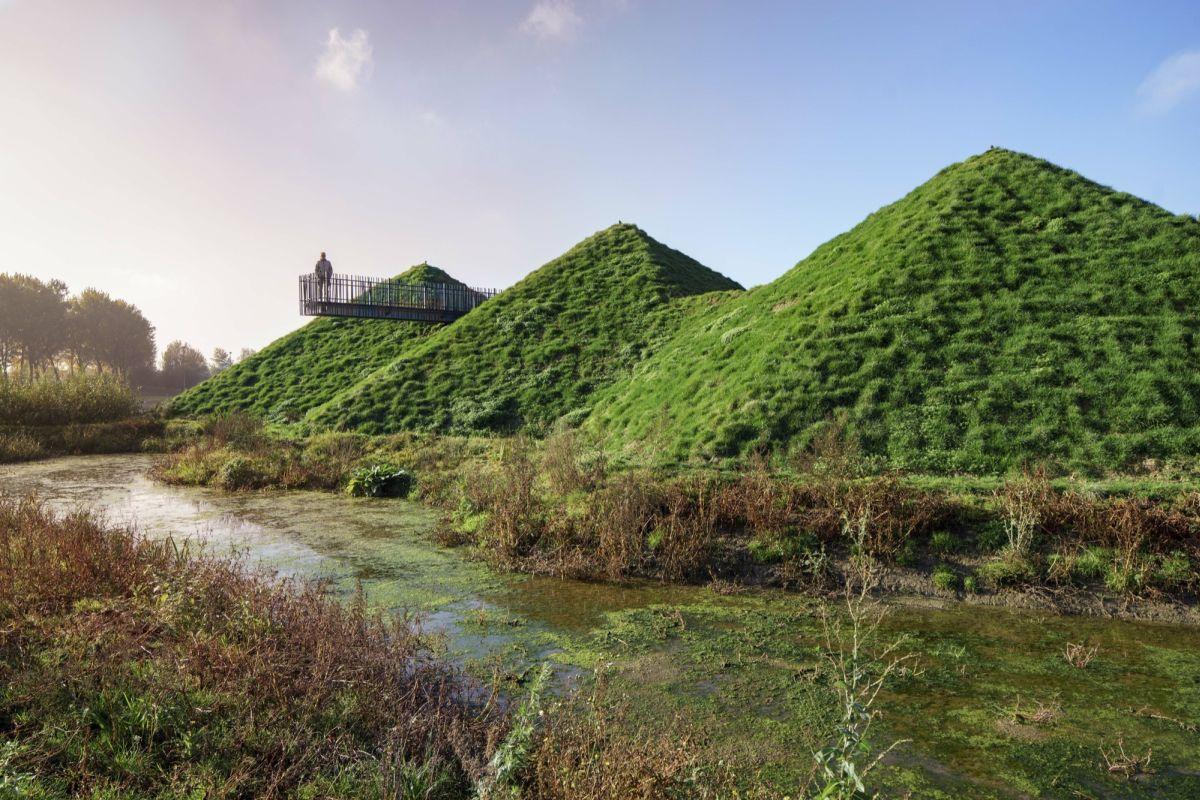 Biesbosch Museum Island from Studio Marco Vermeulen Grass Dune