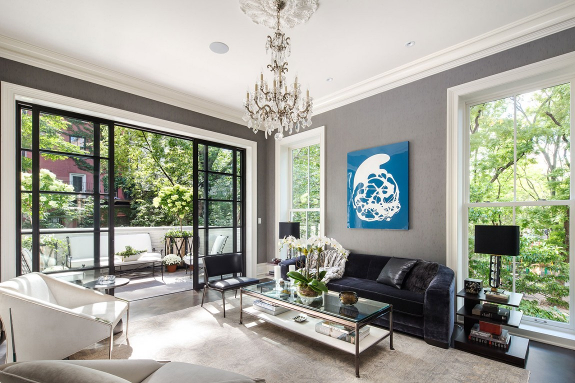 Blue wall art for living room - eye cathing