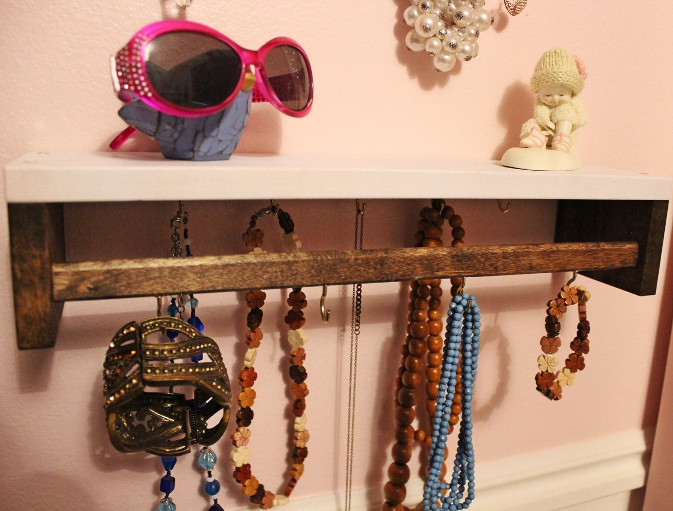 Bohemian diy jewelry holder
