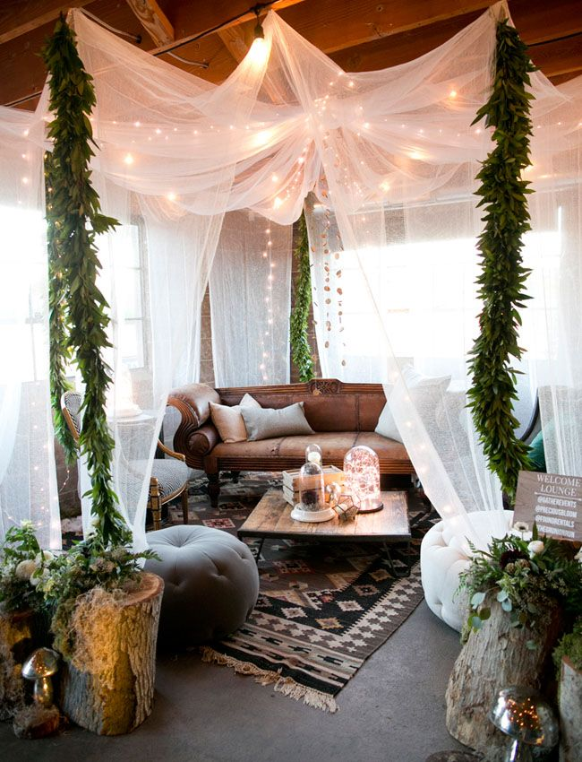 Boho Home Decor Ideas Part - 23: Boho Style Canopy