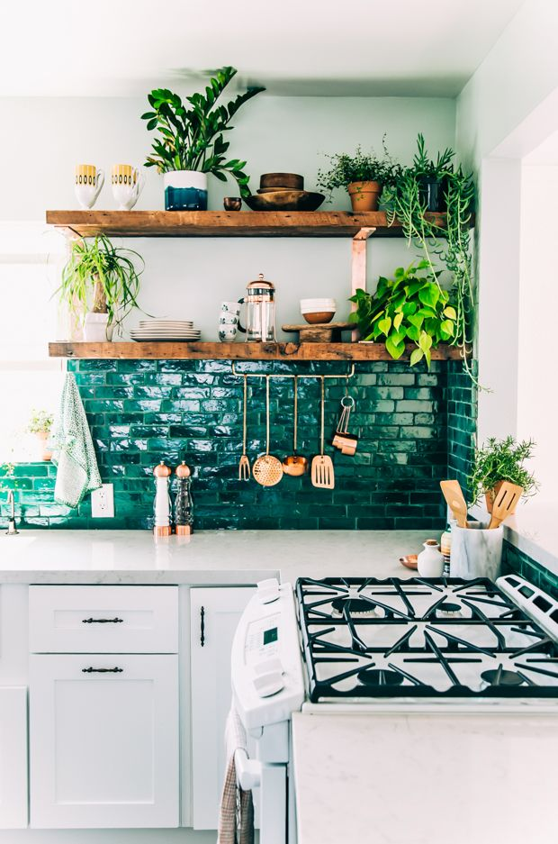 Breathe Life Backsplash