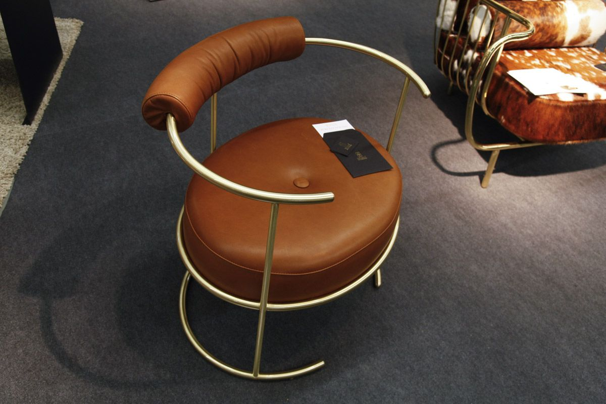 Bessa Brown Lounge Chair