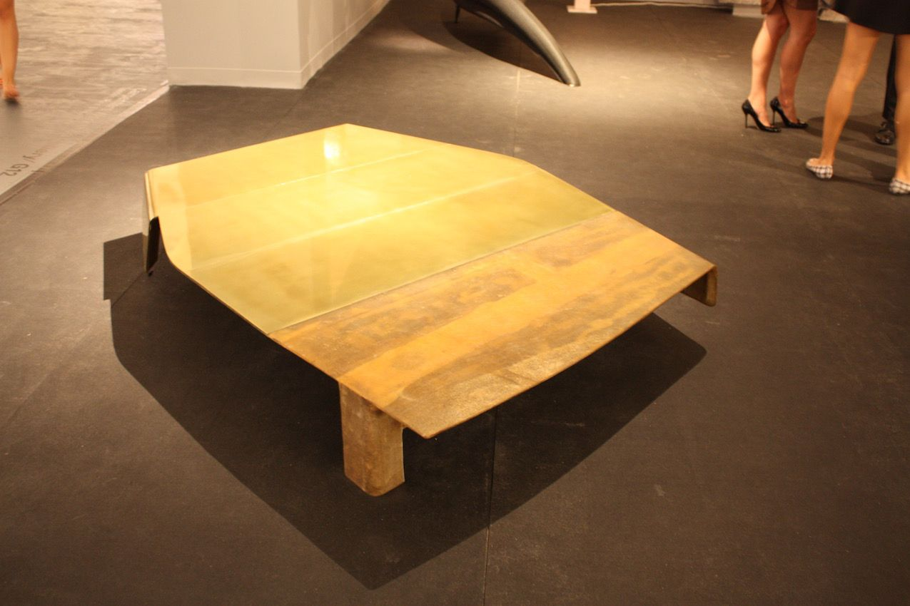 Modern coffee tables come in many shapes and materials this coffee table from the carpenters workshop gallery demonstrates that art form doesnt have geotapseo Choice Image