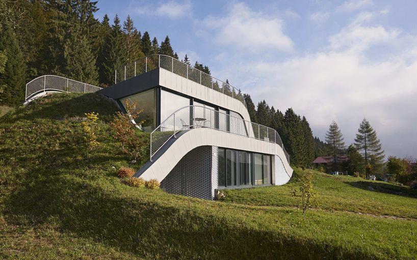 Casa Jura in France Closer Angle