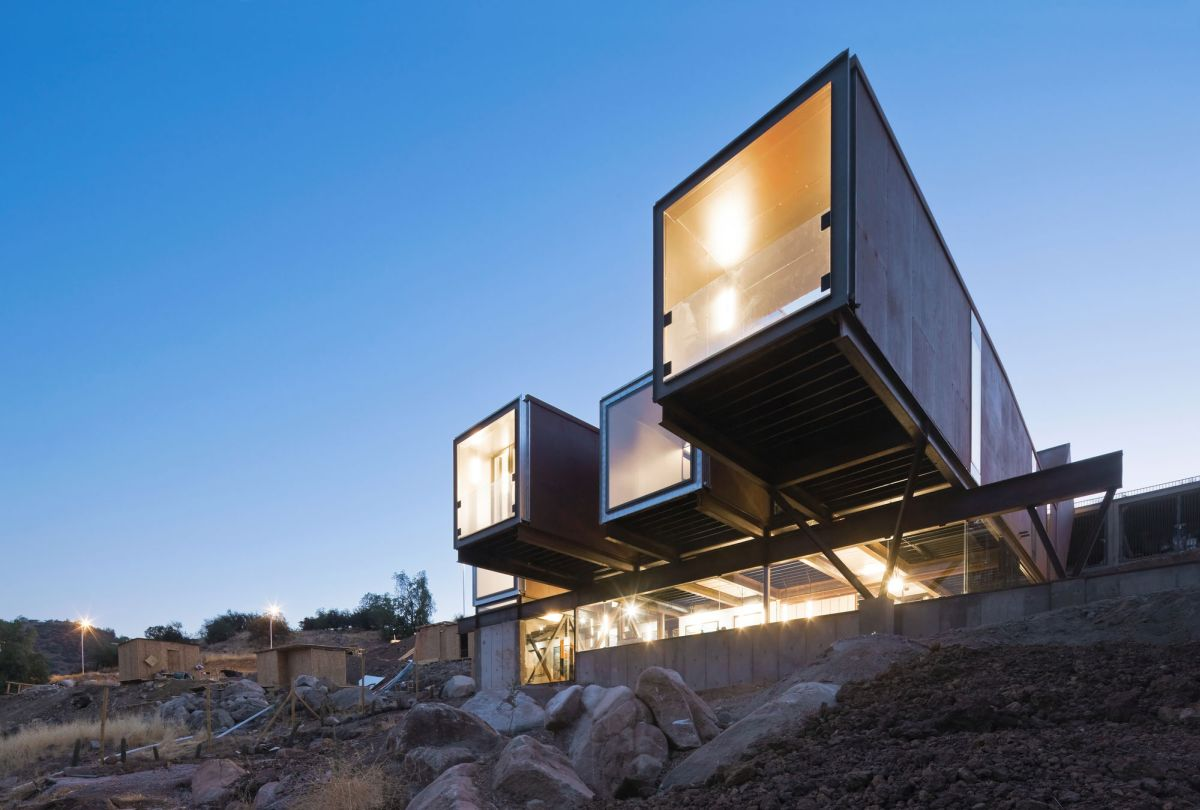 The Caterpillar House Brings Shipping Containers To The Andes
