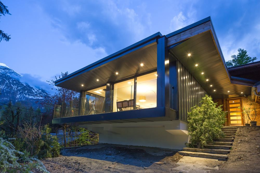 Self Built French Chalet Transformed Into A Modern Second Home