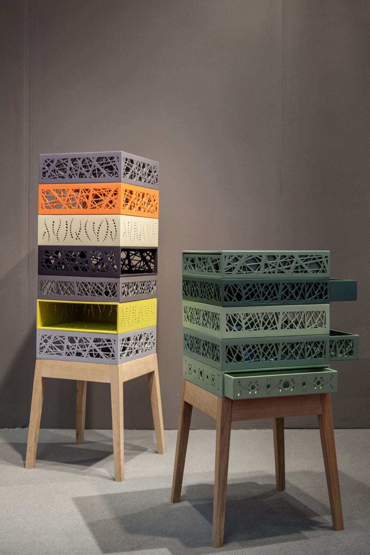 Bon Clever Storage Solution  Stacked Design