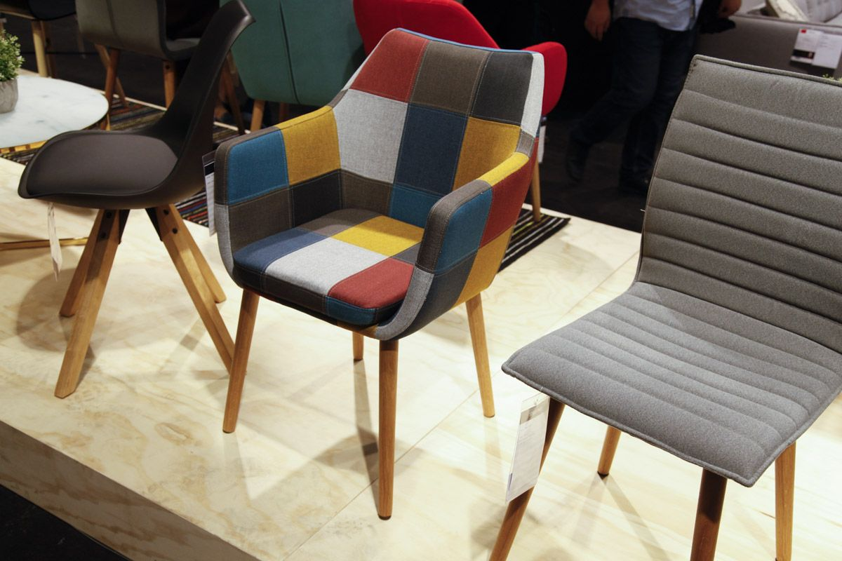 Colorful Scandinavian chair