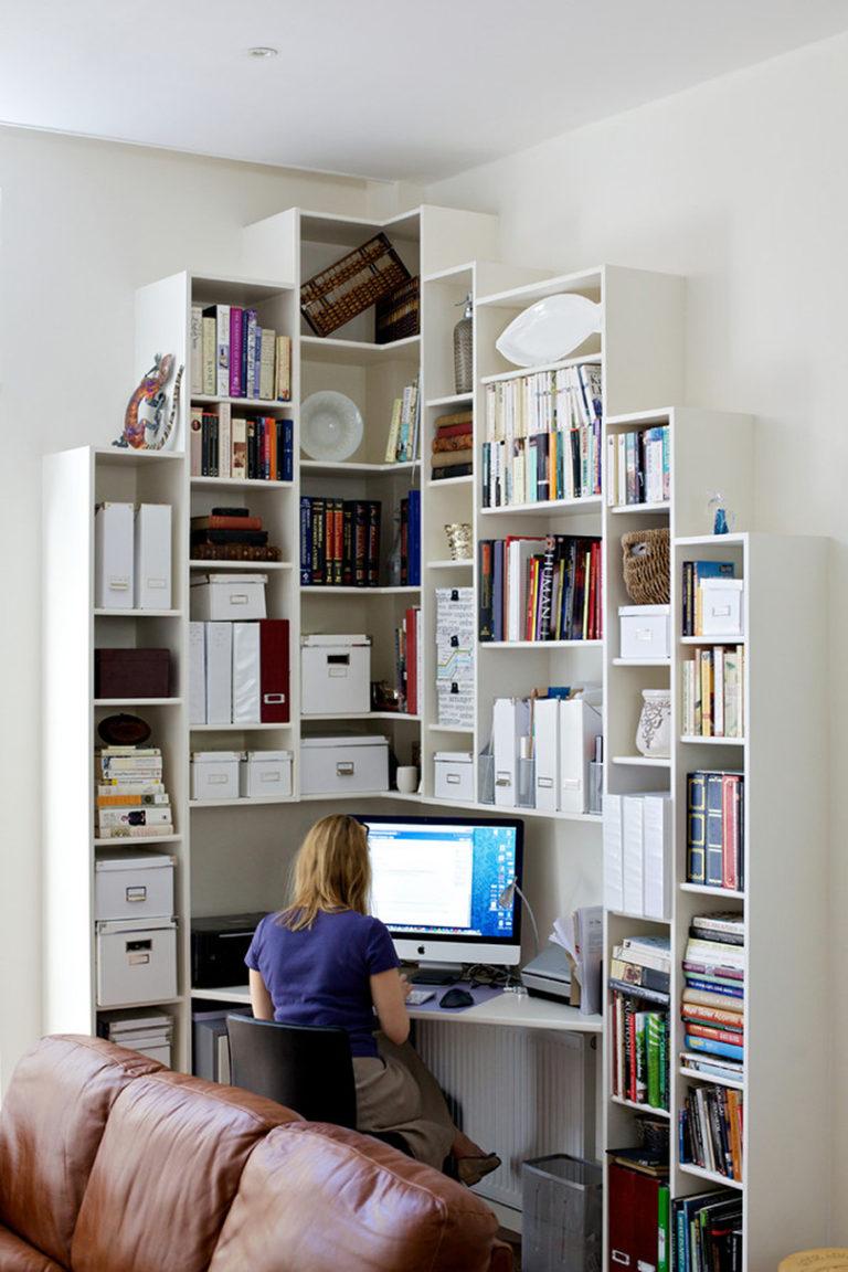 Угловой компьютерный стол: 40 практичных вариантов для дома.