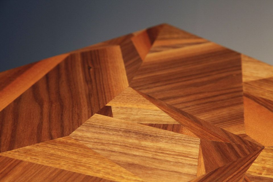 A high level of craftsmanship go to make this cabinet with an accidental on purpose feel