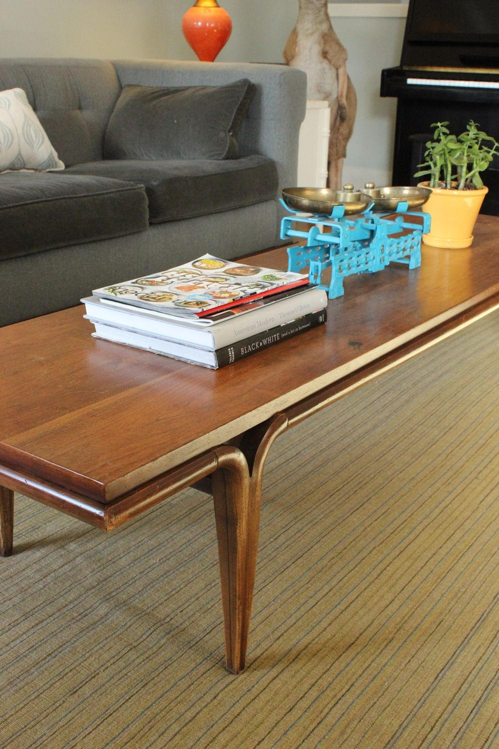 How to style a family friendly coffee table curved coffee table legs geotapseo Choice Image
