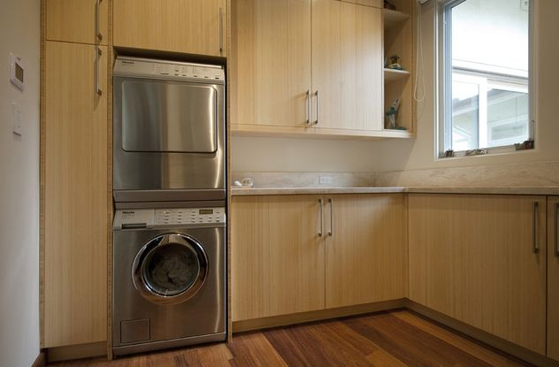 Custom furniture for washer and dryer