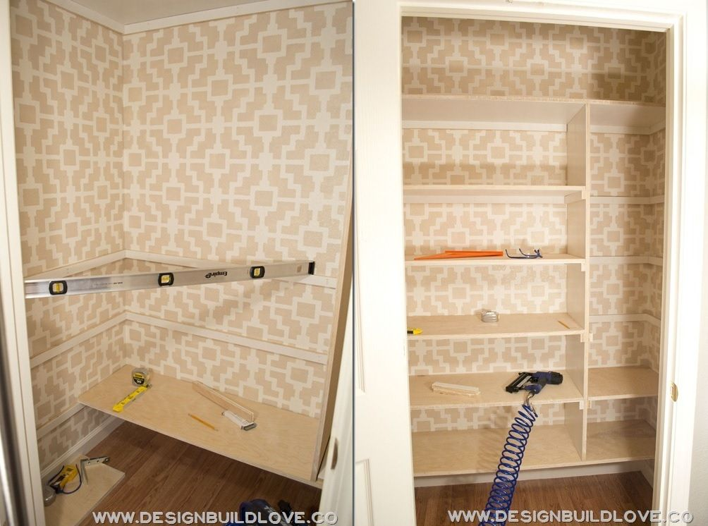 Custom Pantry   Closet Shelves