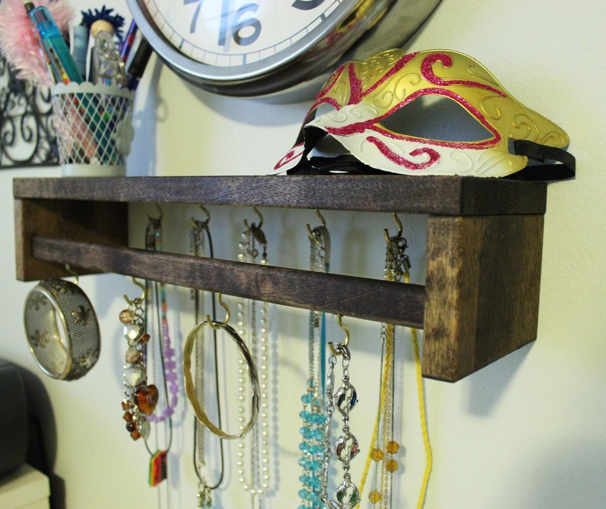 DIY Jewelry Holder - Project