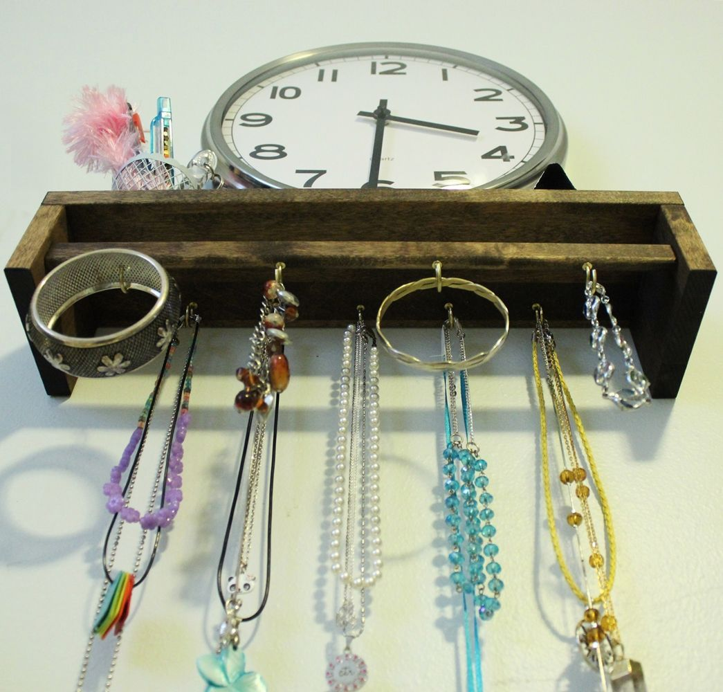 DIY Jewelry Holder - jewelry you want to organize
