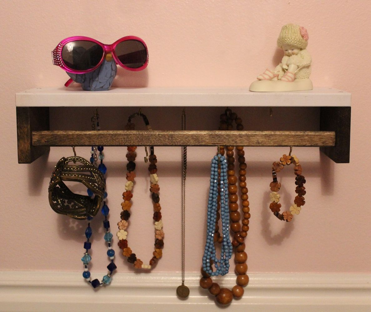 DIY Jewelry Holder - two tone
