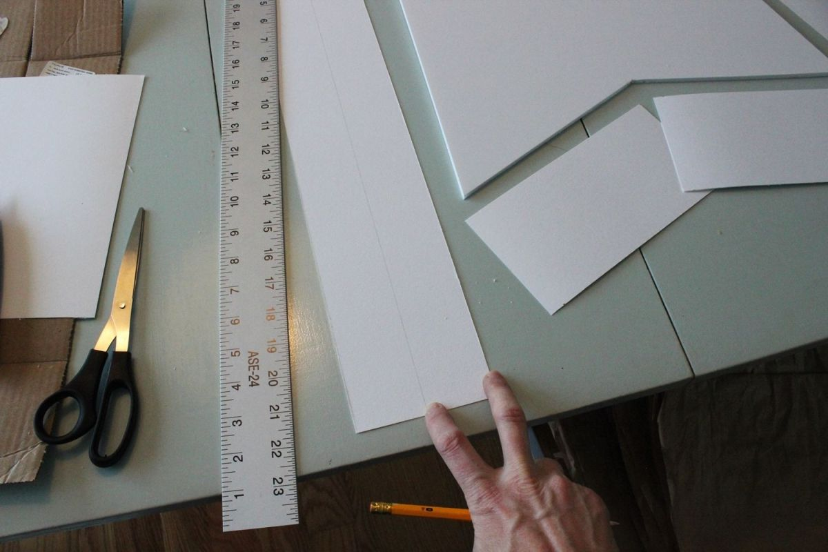 DIY Marquee Sign - halfway mark