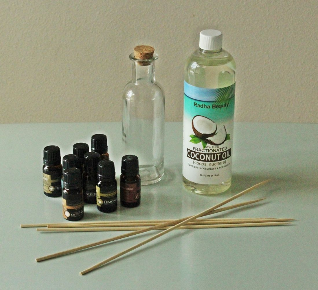 DIY Oil Reed Diffuser Materials