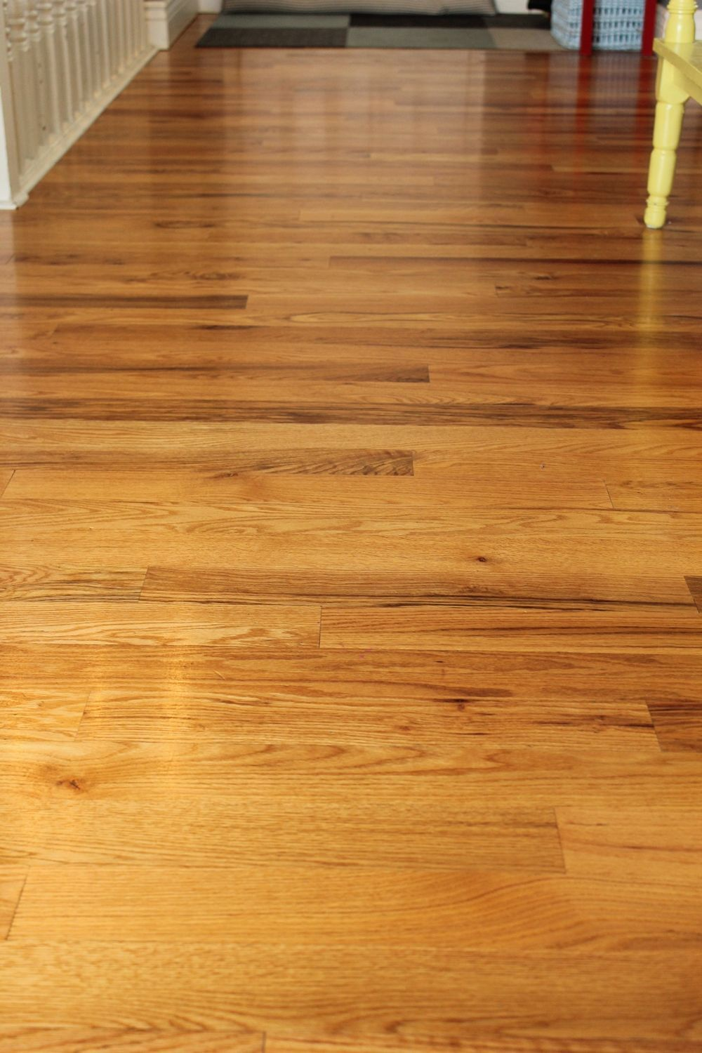 DIY Wood Floor Cleaner - Beware possible slipperiness