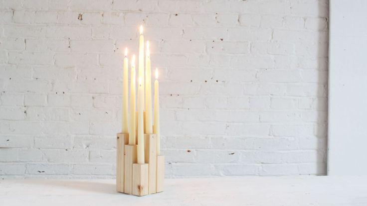 DIY candleabra