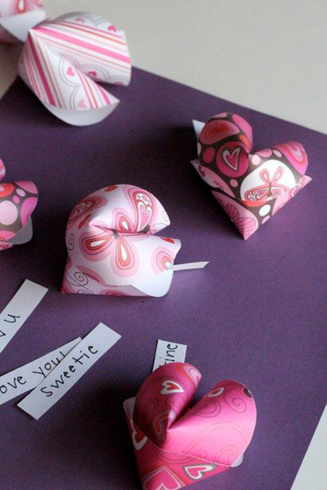 DIY Fortune Cookie Card