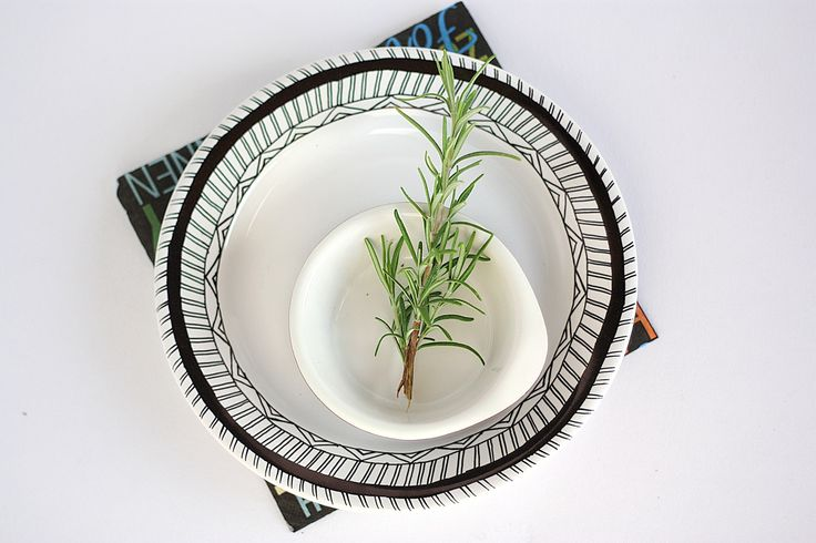DIY geometric dishes