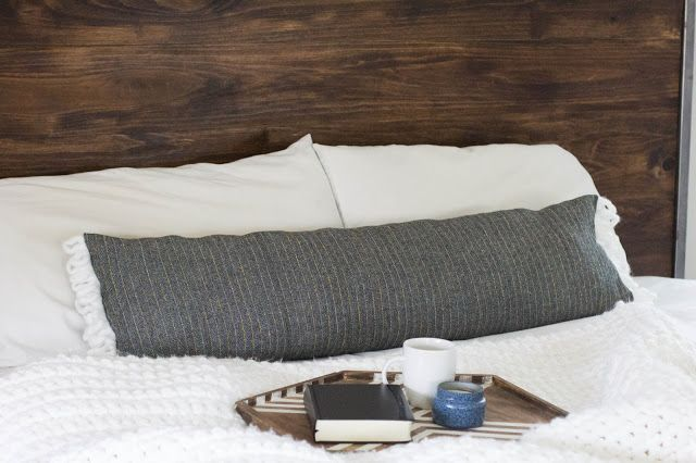 DIY lumbar pillow