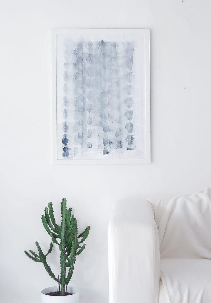 DIY minimalist art