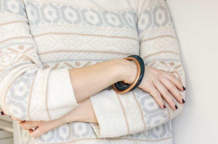 DIY plastic bangles