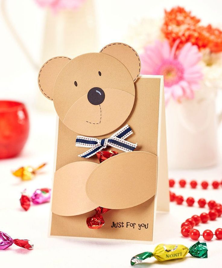Diy Teddy Bear Card